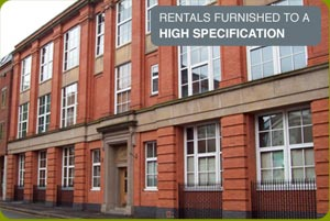 rentals furnished to a high specification